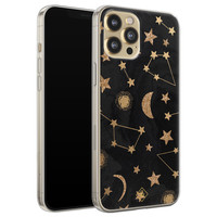 Casimoda iPhone 12 Pro siliconen hoesje - Counting the stars