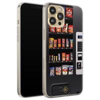 Casimoda iPhone 12 Pro siliconen hoesje - Snoepautomaat