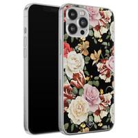 Casimoda iPhone 12 Pro Max siliconen hoesje - Flowerpower