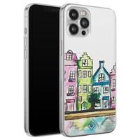 Casimoda iPhone 12 Pro Max siliconen telefoonhoesje - Amsterdam