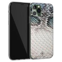 Casimoda iPhone 11 Pro siliconen hoesje - Oh my snake