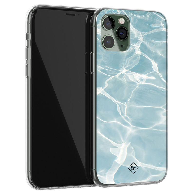 Casimoda iPhone 11 Pro siliconen hoesje - Oceaan