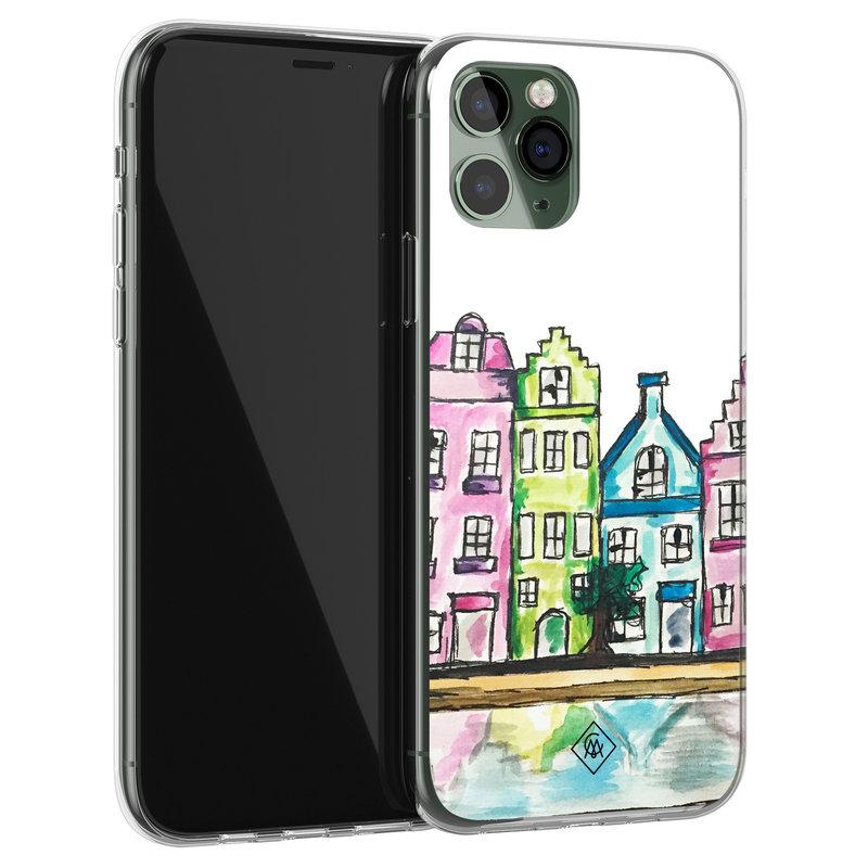 Casimoda iPhone 11 Pro siliconen telefoonhoesje - Amsterdam