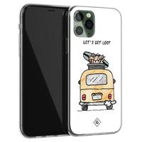 Casimoda iPhone 11 Pro siliconen hoesje - Let's get lost