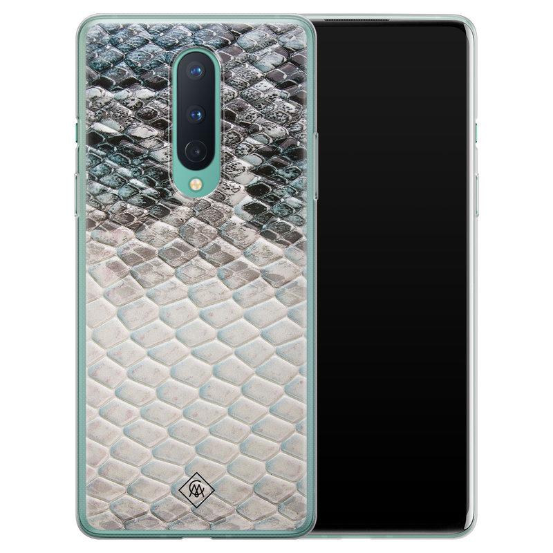 Casimoda OnePlus 8 siliconen hoesje - Oh my snake