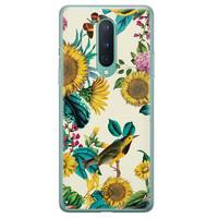Casimoda OnePlus 8 siliconen hoesje - Sunflowers