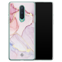 Casimoda OnePlus 8 siliconen hoesje - Purple sky