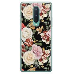 Casimoda OnePlus 8 siliconen hoesje - Flowerpower