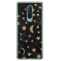 Casimoda OnePlus 8 siliconen hoesje - Counting the stars