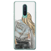 Casimoda OnePlus 8 siliconen hoesje - GRL PWR