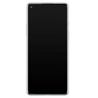 Casimoda OnePlus 8 siliconen hoesje - Luipaard marmer mint