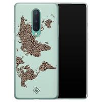 Casimoda OnePlus 8 siliconen hoesje - Wild world