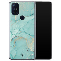 Casimoda OnePlus Nord N10 5G siliconen hoesje - Touch of mint