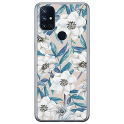 Casimoda OnePlus Nord N10 5G siliconen hoesje - Touch of flowers