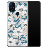 Casimoda OnePlus Nord N10 5G siliconen telefoonhoesje - Touch of flowers