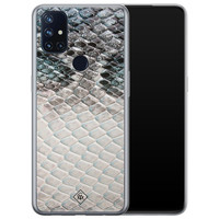 Casimoda OnePlus Nord N10 5G siliconen hoesje - Oh my snake