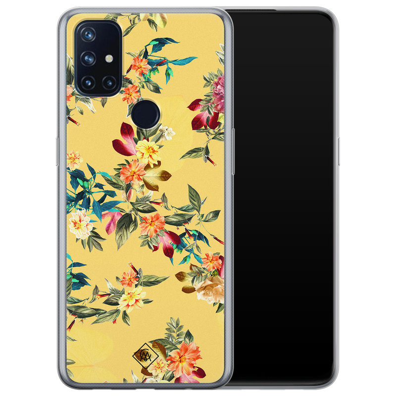 Casimoda OnePlus Nord N10 5G siliconen hoesje - Floral days