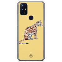 Casimoda OnePlus Nord N10 5G siliconen hoesje - Leo wild