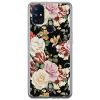 Casimoda OnePlus Nord N10 5G siliconen hoesje - Flowerpower