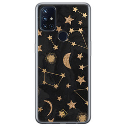 Casimoda OnePlus Nord N10 5G siliconen hoesje - Counting the stars