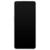 Casimoda OnePlus Nord N10 5G siliconen hoesje - Marmer blauw
