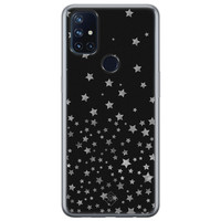 Casimoda OnePlus Nord N10 5G siliconen hoesje - Falling stars