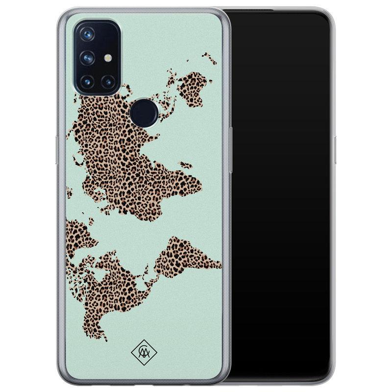 Casimoda OnePlus Nord N10 5G siliconen hoesje - Wild world