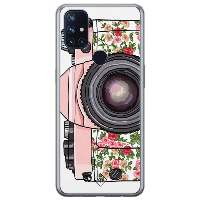 Casimoda OnePlus Nord N10 5G siliconen telefoonhoesje - Hippie camera