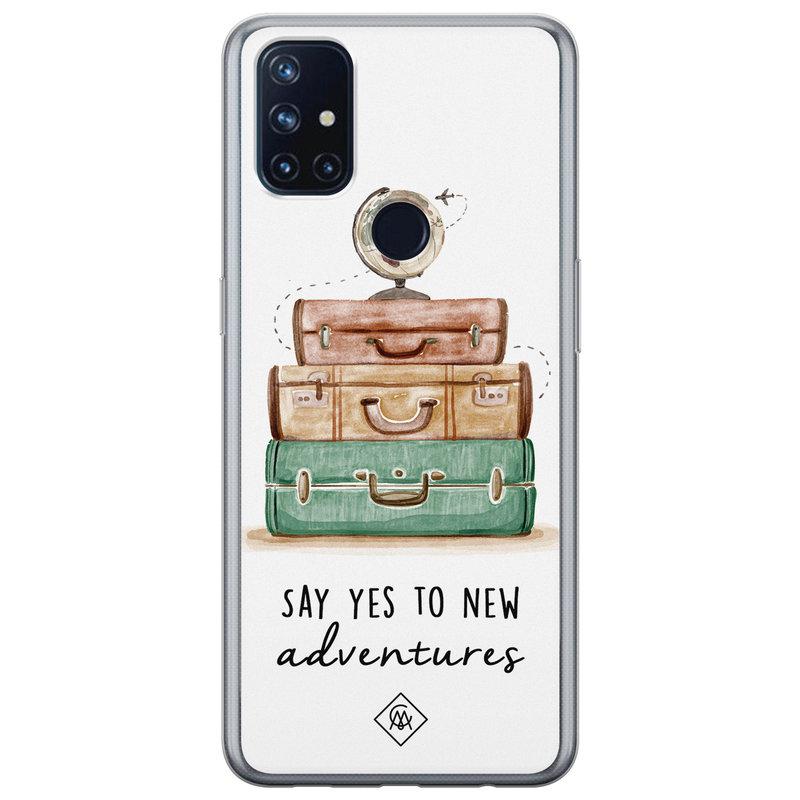 Casimoda OnePlus Nord N10 5G siliconen hoesje - Wanderlust
