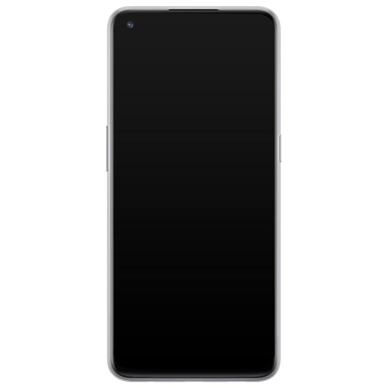 Casimoda OnePlus Nord N10 5G siliconen telefoonhoesje - Luipaard grijs