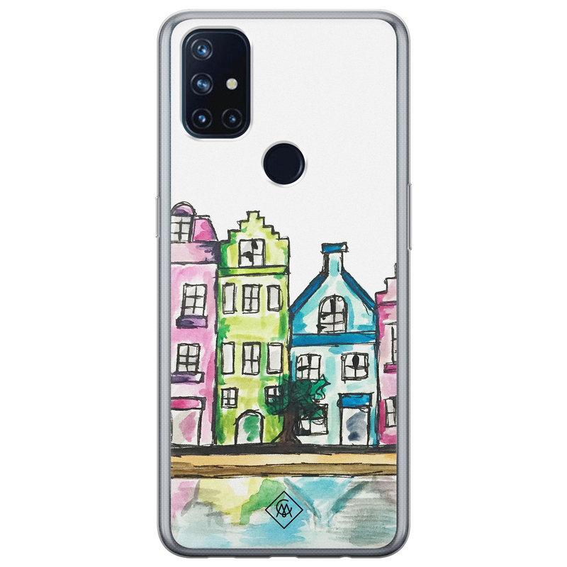Casimoda OnePlus Nord N10 5G siliconen telefoonhoesje - Amsterdam