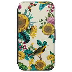 Casimoda iPhone X/XS flipcase - Sunflowers