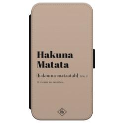 Casimoda iPhone X/XS flipcase - Hakuna Matata