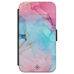Casimoda iPhone X/XS flipcase - Marble colorbomb