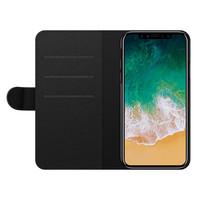 Casimoda iPhone X/XS flipcase - Marmer grijs