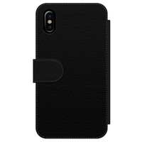 Casimoda iPhone X/XS flipcase - Stone grid