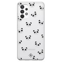 Casimoda Samsung Galaxy A32 4G transparant hoesje - Panda