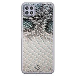Casimoda Samsung Galaxy A22 5G siliconen hoesje - Oh my snake