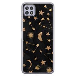 Casimoda Samsung Galaxy A22 5G siliconen hoesje - Counting the stars