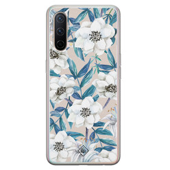 Casimoda OnePlus Nord CE 5G siliconen hoesje - Touch of flowers