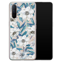 Casimoda OnePlus Nord CE 5G siliconen telefoonhoesje - Touch of flowers