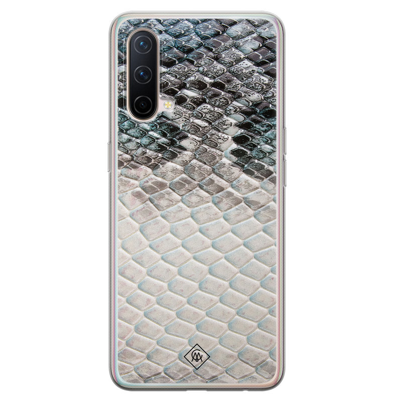 Casimoda OnePlus Nord CE 5G siliconen hoesje - Oh my snake