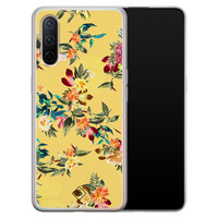 Casimoda OnePlus Nord CE 5G siliconen hoesje - Floral days