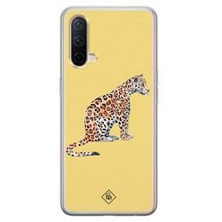 Casimoda OnePlus Nord CE 5G siliconen hoesje - Leo wild