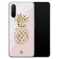 Casimoda OnePlus Nord CE 5G siliconen hoesje - Ananas