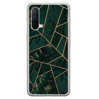 Casimoda OnePlus Nord CE 5G siliconen hoesje - Abstract groen