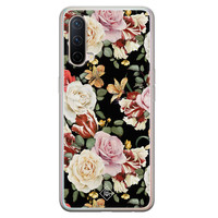 Casimoda OnePlus Nord CE 5G siliconen hoesje - Flowerpower