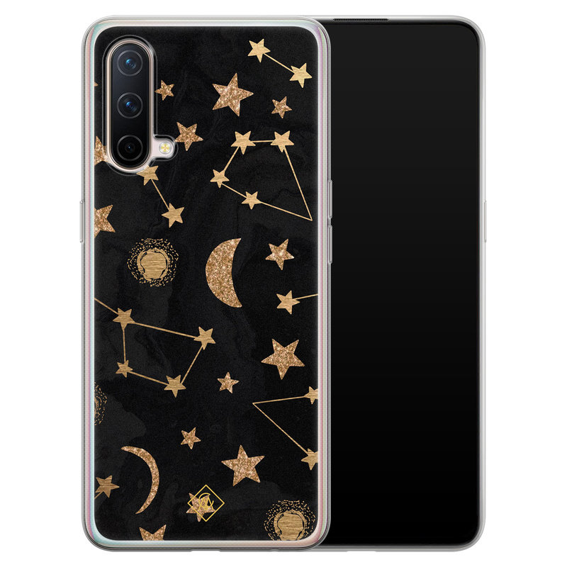 Casimoda OnePlus Nord CE 5G siliconen hoesje - Counting the stars