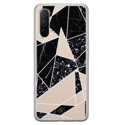 Casimoda OnePlus Nord CE 5G siliconen hoesje - Abstract painted