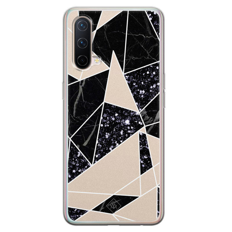 Casimoda OnePlus Nord CE 5G siliconen telefoonhoesje - Abstract painted